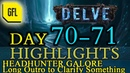 Path of Exile 3.4: Delve DAY 70-71 Highlights HH GALORE, long outro about yesterday's interview