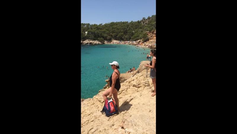Cala Salada, the 2nd day on Ibiza