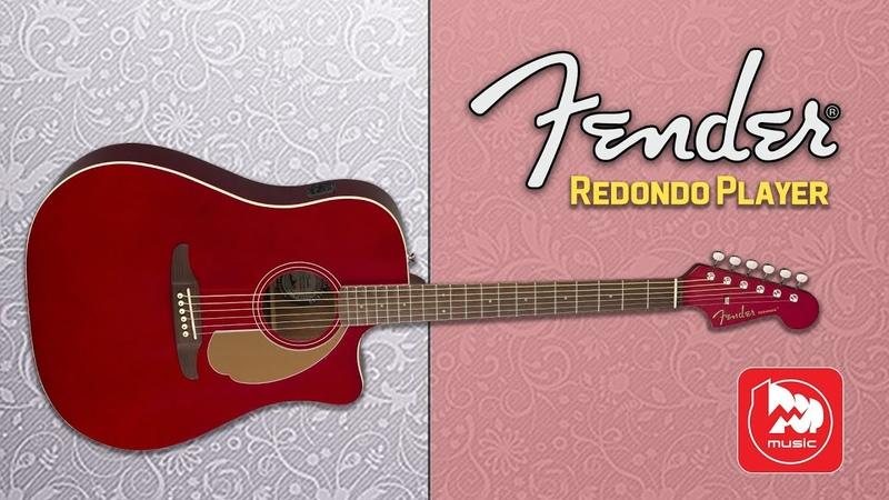 FENDER Redondo Player - электроакустика с грифом от стратокастера