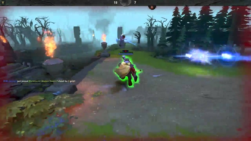Action Dota Very Early Gameplay Test
