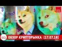 Новости криптовалют и блокчейн WEX скам FCoin 100 млн токенов Robinhood Crypto листинг Dogecoin