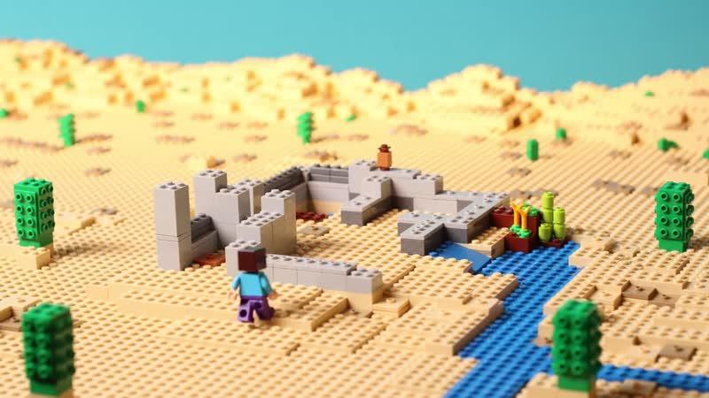 LEGO Minecraft Pustynny posterunek