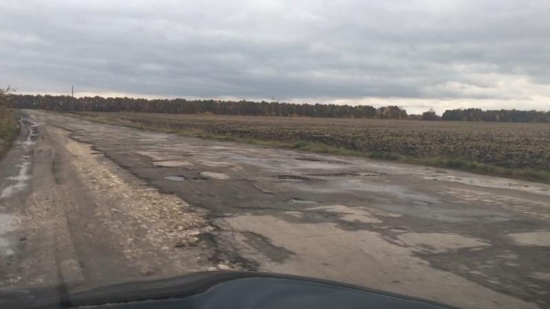 Дорога Село Кулики Шацкого района Рязанской области