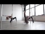 Pole Exotic - Виктория Халецкая и Алина Колегова