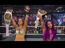 Bayley Sasha Banks vs Nia Jax Tamina vs Naomi Carmella vs Thei Iconics vs Sonya Deville Mandy Rose vs The Riott Squad
