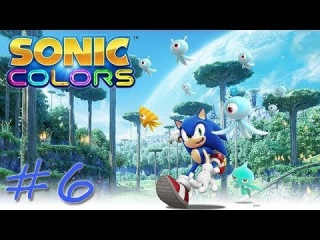 Прохождение Sonic Colors #6 - Asteroid Coaster