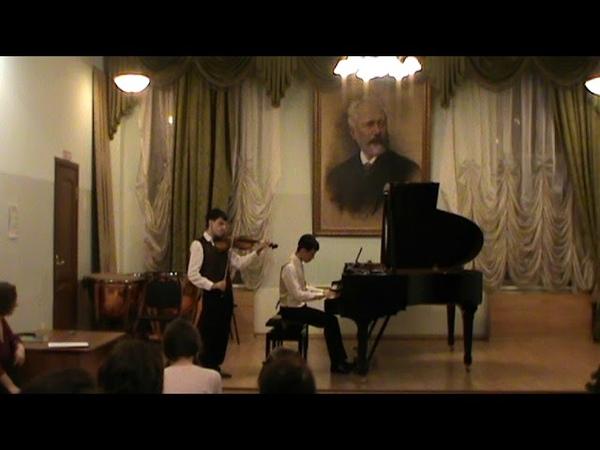 И.Бах-А.Зилотти Прелюдия h-moll. Аранж.Кришчяна Арама для скрипки и фортепиано.
