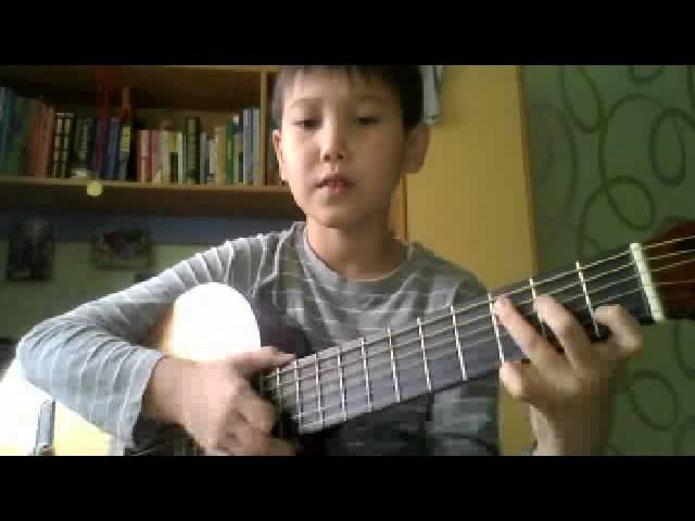 Как играть на гитаре Юра Шатунов Белые розы