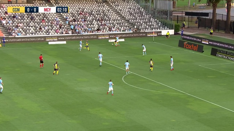A-League 2018/19: Round 12 - Central Coast Mariners v Melbourne City FC (Full Game)