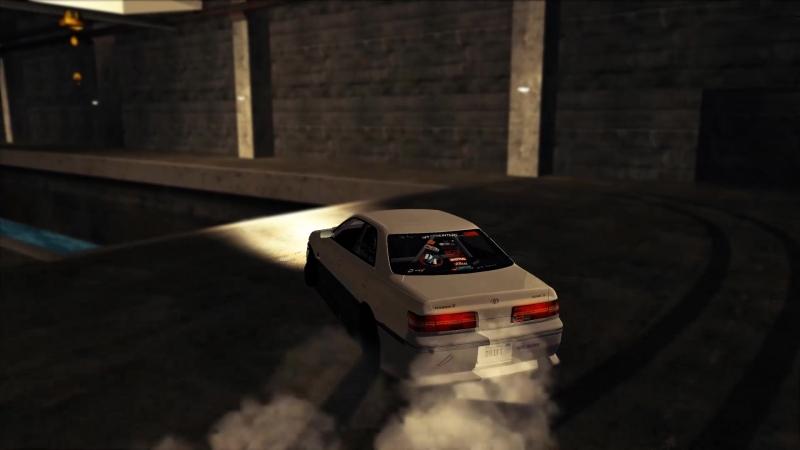 マルチ-セフト-オートドリフトパラダイス3番のトヨタマークII JZX100