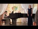 Дж. Верди «Песенка Оскара» из оперы «Бал Маскарад» - Филатьева Ольга.