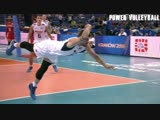Crazy Volleyball Flying Saves (HD)