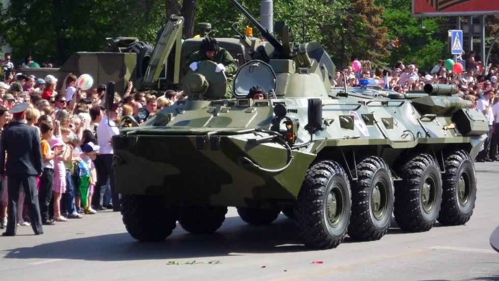 День Победы в Ростове