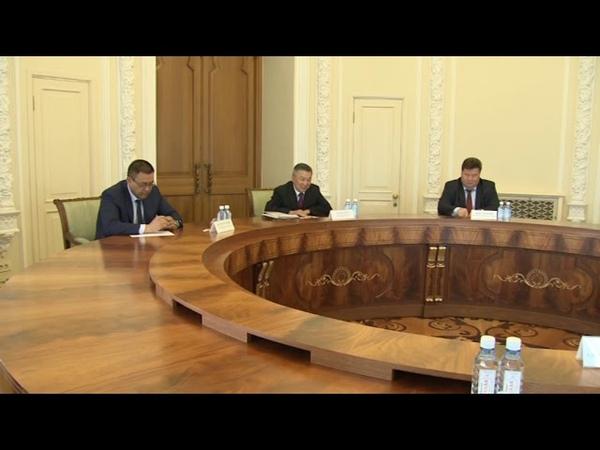 Глава региона Евгений Куйвашев провел встречу с руководителем Администрации Президента Монголии