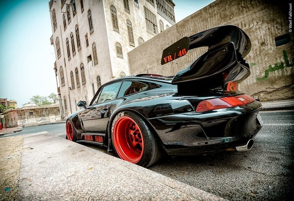 Porsche 911 Diablo Nero