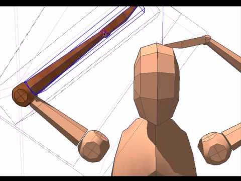 Sketchup action figure figureup