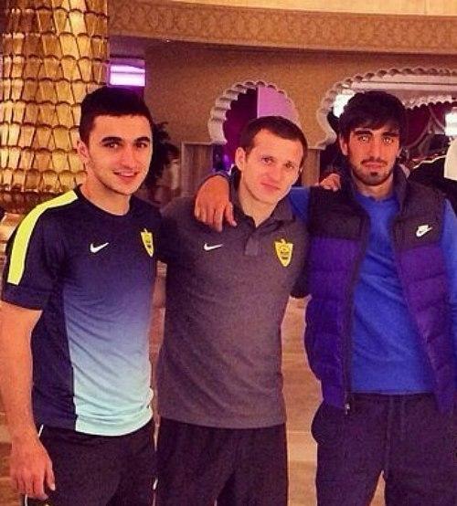 Алиев притирается к новому клубу - изображение 1