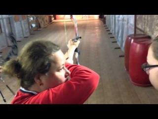 Тренировка с Александрой Лебедевой в Лабиринте.