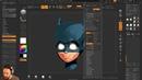 Batman Cowl 003 Render