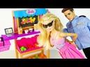 ЗА ЧТО Мультик Куклы Барби Школа Учительница Игрушки Для девочек Детский канал Ikuklatv