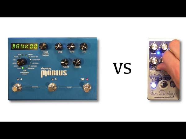 Strymon Mobius vs EarthQuaker Devices Sea Machine Chorus