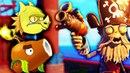 РАСТЕНИЯ против ЗОМБИ ПИРАТОВ Детский летсплей по мультяшной игре Plants vs. Zombies 2