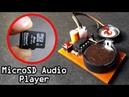 Micro SD Audio Player Using 8 Pin IC