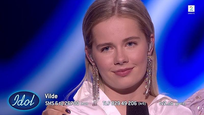 Dommerne mener Cezinando ikke var helt riktig sangvalg for Vilde | Idol Norge 2018
