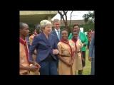 Страстный танец премьер-министра Великобритании!