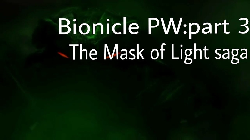 Bionicle power leves part 3 the mask of light