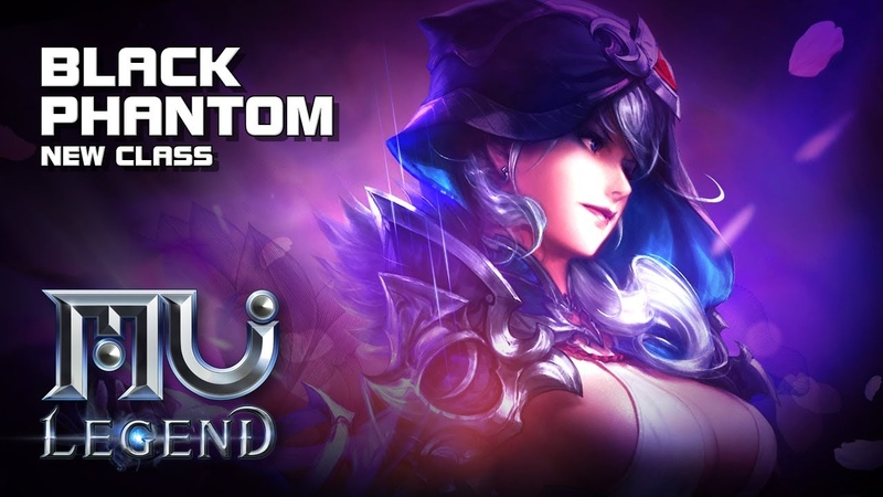 MU Legend - Black Phantom (New Class) - Creation Gameplay lvl 1~65 - F2P - PC - KR