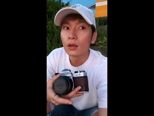 CROSS GENE Seyoung (이세영) Instagram Live [180821]