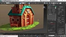 Adding railings to the balcony | 3ds Max: Stylized Environment for Animation from LinkedIn Learning