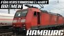 Führerstandsmitfahrt Bremen - Hamburg / 4K / GoPro