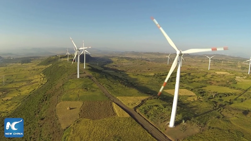 Chinese-built wind farm in Ethiopia Africas second largest