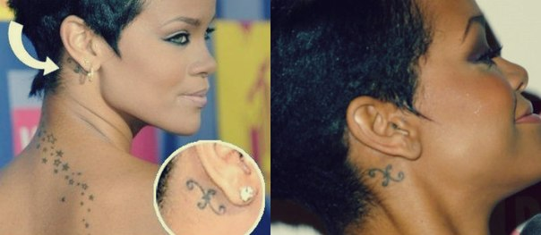 Рианна решила сделать татуировку
