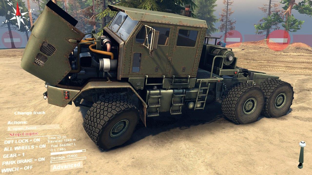 Oshkosh HET M1070 Global 1.0 для Spintires - Скриншот 3