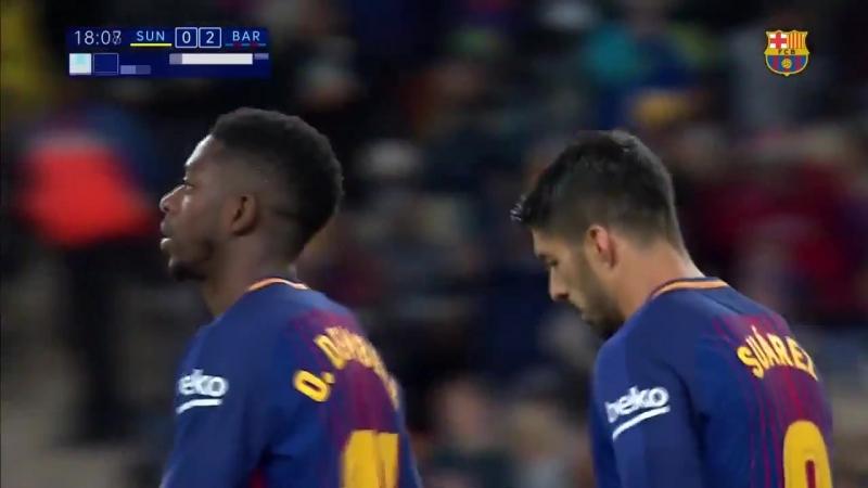 Гол Луиса Суареса Мамелоди Сандаунс 0 2 Барселона