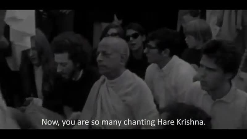 A Message From Bhaktivedanta Swami Prabhupada