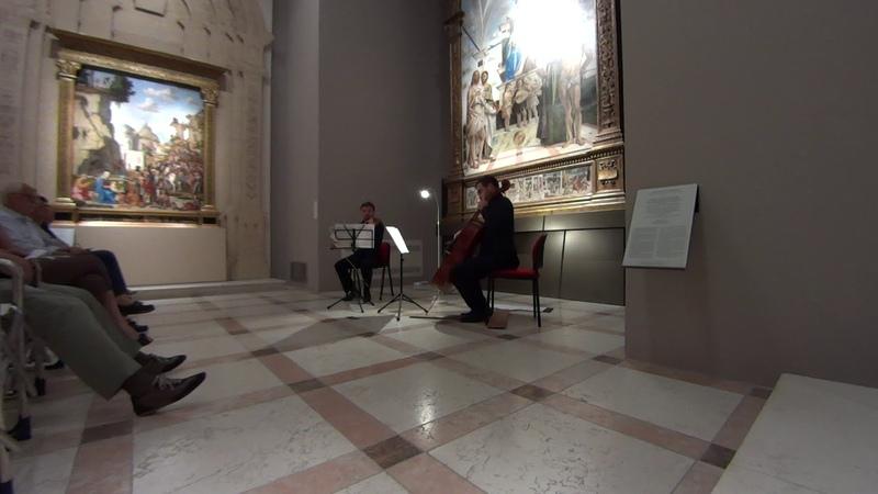 Reinhold Glière - Berceuse. Genovese, Kyrylov.