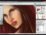 Bikini Babe Painter X painting tutorial with audio instructions Part 15/15