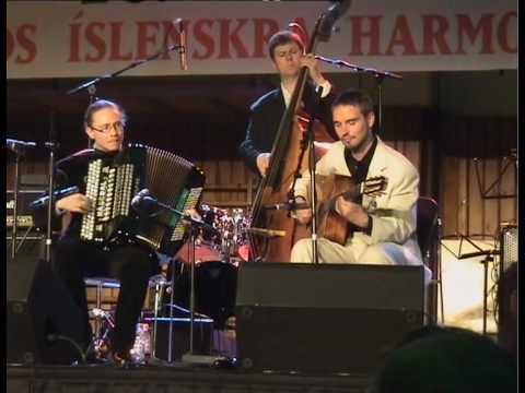 Gypsy Jazz Accordion - After You've Gone - Alf Hågedal Hrafnaspark Trio