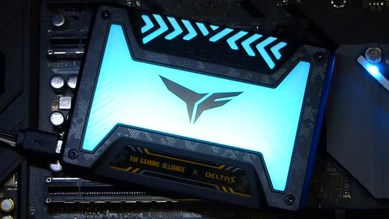 Подсветка TeamGroup T-FORCE DELTA S TUF Gaming RGB
