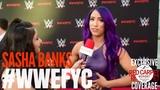 SB_Group Sasha Banks interviewed at the WWE FYC Event #WWEFYC #WWE #Emmys