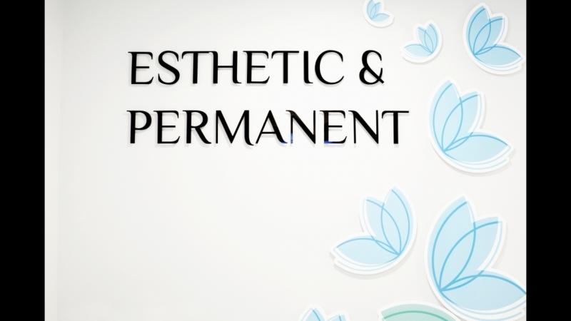 Съёмка для Esthetic Permanent студия эстетической косметологии и перманентного макияжа