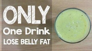 How To Lose Belly Fat With One Drink | Lose Weight With Smoothies Recipes