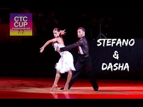 Stefano Di Filippo - Dasha Chesnokova CTC Cup 2018   WDC   Honor dance Pro Cha Cha routine