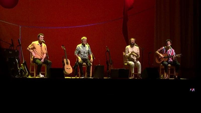 Caetano Veloso: Moreno Veloso, Zeca Veloso e Tom Veloso. Tá Escrito - Grupo Revelação. 21abr18