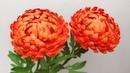 ABC TV How To Make Chrysanthemum Paper Flower Flower Die Cuts Craft Tutorial