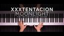 XXXTENTACION - Moonlight   The Theorist Piano Cover